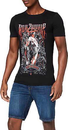 Black Rockoff Trade Men/'s Dagger Skull T-shirt X-large Slayer Mens Black