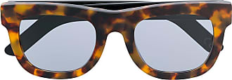 Retro Superfuture Ciccio angular sunglasses - Brown