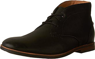 Clarks Mens Broyd Mid Ankle Boot, Black Leather, 12 M US