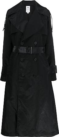 Yohji Yamamoto long-length trench coat - Black