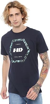 Hawaiian Dreams Camiseta HD Nocturn Azul-Marinho