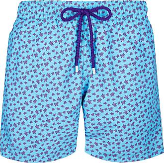 Vilebrequin Men Swimwear Micro Ronde des Tortues - Jaipuy - XXL Light Blue