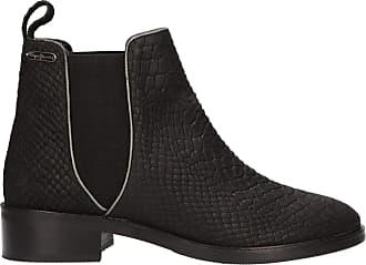 Pepe Jeans London Women Mid Boots PLS50341 Devon 999 Black Size 7 UK