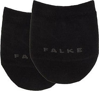 Falke Logo-jacquard Toe Socks - Womens - Black