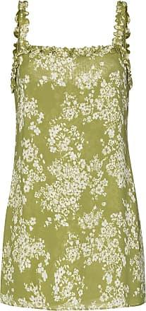 Reformation Vestido com estampa floral Eletta - Verde