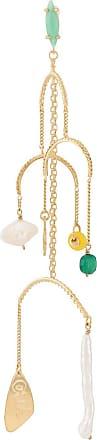 Wouters & Hendrix I Play chandelier earrings - GOLD
