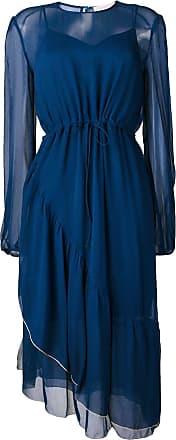 See By Chloé Vestido midi - Azul