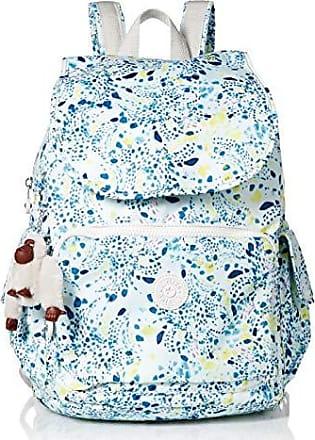 Kipling Womens City Pack Medium Backpack, Adjustable Backpack Straps, Zip Closure, Delicate Vines