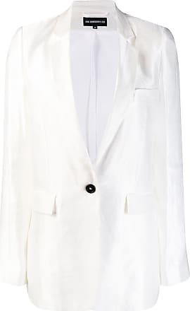 9c5b29b3d6ec Ann Demeulemeester single-breasted blazer - White