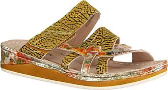 20791c26f10981 Laura Vita Womens Brcuelo 059 Velcro Mule Sandals 39 EU