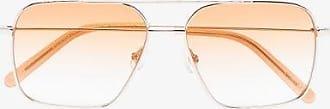 Chimi Eyewear Womens Brown Sayonara Aviator-frame Sunglasses