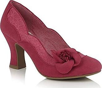 a7e3b2360f96d7 Ruby Shoo Damen Schuhe Veronica Vintage Floral Lace Pumps Pink Geschlossen  39