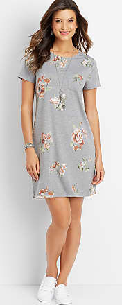 Maurices 24/7 Floral Keyhole Back Dress