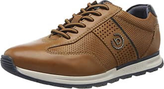 Bugatti Mens 321839031100 Low-Top Sneakers, Brown (Cognac 6300), 8 UK