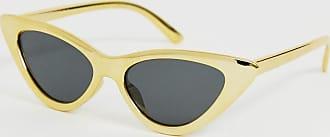 A.J. Morgan Occhiali da sole a occhi di gatto gialli-Giallo
