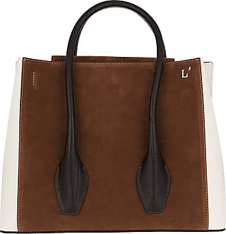 L'autre Chose Tote - Tote Bag Cognac/Dust Grey/Black - brown - Tote for ladies