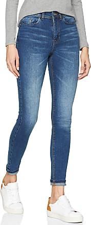 Jacqueline de Yong Womens JDYJONA Skinny HIGH MED NOOS DNM Jeans, Blue (Medium Blue Denim Medium Blue Denim), 28W x 32L