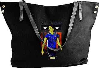 Juju Woman Soccer Style Womens Classic Shoulder Portable Big Tote Handbag Work Canvas Bags