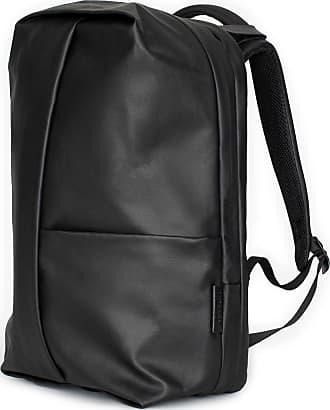 Côte & Ciel Cote & Ciel Sormonne Coated Canvas Backpack | Black