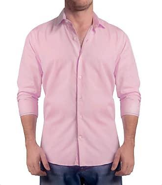 Sergio K. Camisa Light Twill Rosa Claro