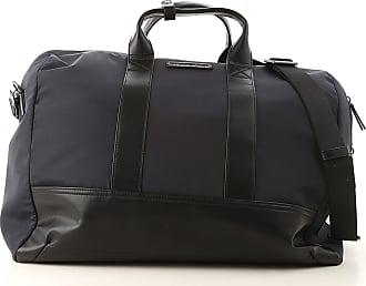 Emporio Armani Weekender Duffel Bag for Men On Sale, Blue, Nylon, 2017, one size