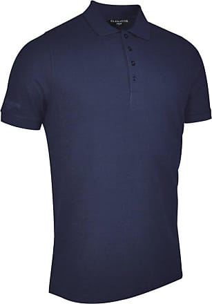 Glenmuir Mens MSC7211 Classic Fit Cotton Pique Polo Shirt Navy XXL
