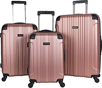 Kenneth Cole Reaction Kenneth Cole Reaction Out Of Bounds 3-Piece Lightweight Hardside 4-Wheel Spinner Luggage Set: 20 Carry-On, 24, & 28