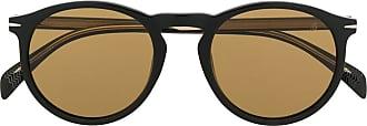 David Beckham Óculos de sol redondo - Preto