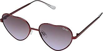 Quay Eyeware Kim (Red/Purple Fade) Fashion Sunglasses