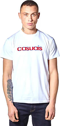 Weekend Offender Mens Casuals SS T-Shirt White (Large)