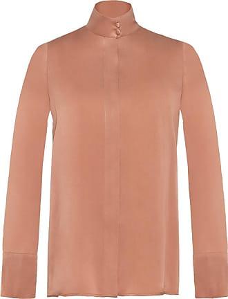 The Crocale Hande Silk Blouse Blush