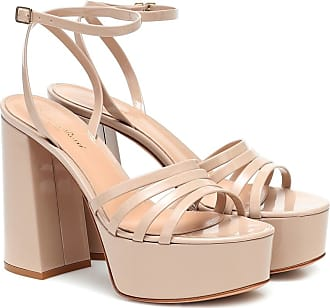 Gianvito Rossi Patent-leather platform sandals