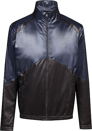 9490a5ca18 HUGO BOSS Slim-fit water-repellent jacket with colorblock panels