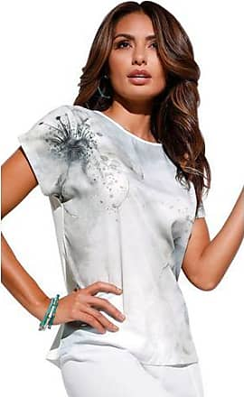 Création L Creation L shirt met exclusieve bloemenprint in aquarel-look