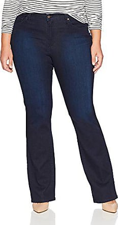 James Jeans Womens Classic Bootcut Jean in Flat Black