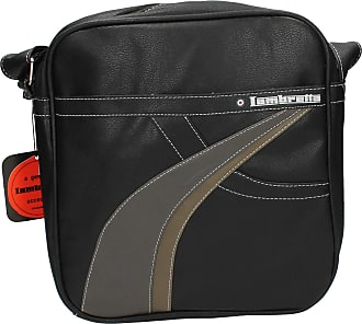 Navy Lambretta Mens Cross Body Zipped Adjustable Shoulder Strap Zipped Bag