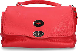 Zanellato Handbag JILY leather logo red
