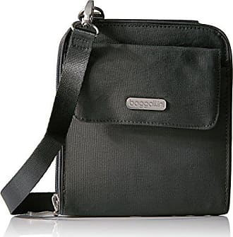 Baggallini Passport Travel Crossbody - Stylish, Lightweight, Adjustable-Strap Purse With RFID-Protected Passport Pocket, Perfect Travel Bag for the Essentials
