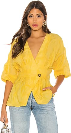L'Academie The Michela Blouse in Yellow