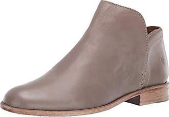 Frye Womens Elyssa Shootie Ankle Boot, Grey, 6 M US