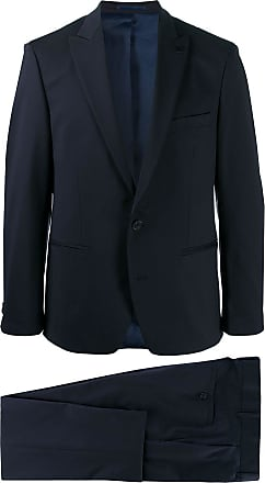 Karl Lagerfeld Contemporary single-breasted suit - Azul