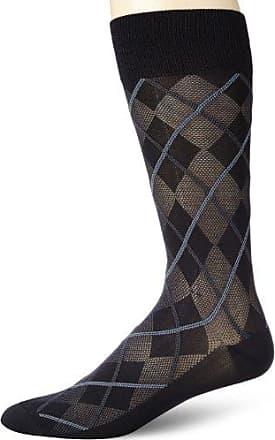 bd43818414 Perry Ellis Mens All Over Argyle Microfiber Luxury Dress Sock