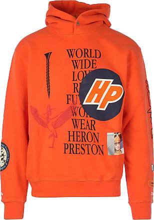 HPC Trading Co. Fashion Man HMBB011F20JER0012210 Orange Cotton Sweatshirt | Fall Winter 20