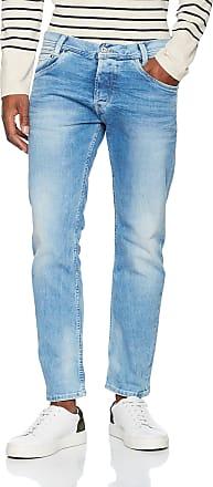 Pepe Jeans London Mens Spike Slim Jeans, Blue (11Oz Vintage 8 Dip), 34W / 30L