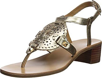 4faedc4cb6b Delivery  free. Jack Rogers Womens Gretchen Heeled Sandal Platinum 7.5  Medium US