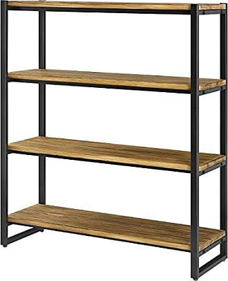 New Pacific Direct 9300061 Anderson 4 Tier Bookcase One Size Brown