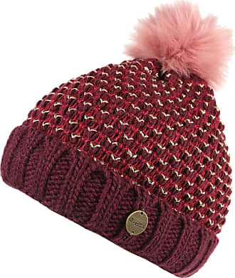 b8a7eb30220 Regatta Womens Ladies Lovella Knitted PomPom Winter Walking Beanie Hat