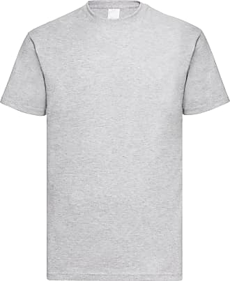Universal Textiles Mens Value Short Sleeve Casual T-Shirt (XXX Large) (Grey Marl)