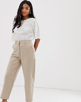 Y.A.S tailored trousers in beige
