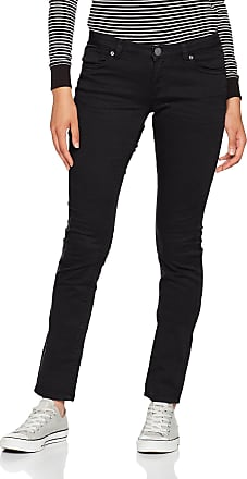 Q/S designed by - s.Oliver Womens 45899710414 Slim Jeans, Black (Black 9999), 44W x 32L